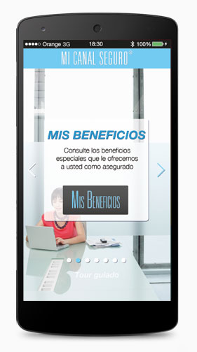 Tutorial - Mis beneficios